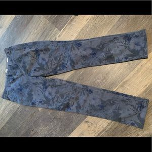 J.crew patterned chinos